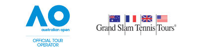 Grand Slam Tennis Tours is an Official Tour Operator of the Australian Open; Hospitality, travel packages, tickets.