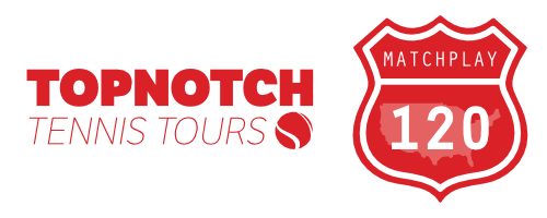 Official Topnotch Tennis Tours MatchPlay 120 series logo